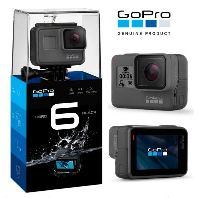 Câmera Digital Gopro Hero 6 Black