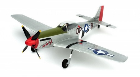 Ultra Micro P-51 Mustang BNF com AS3X  ParkZone   - foto principal 1