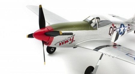Ultra Micro P-51 Mustang BNF com AS3X  ParkZone   - foto principal 2