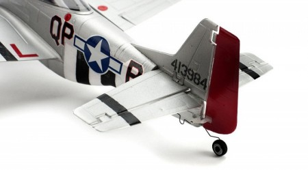 Ultra Micro P-51 Mustang BNF com AS3X  ParkZone   - foto principal 3