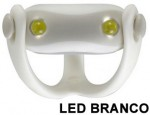 Farol Vista Light Infini I-203W Led Branco WUKONG Branco  - foto 3