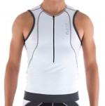 Top Flets Braziliian Triathlon Masculino Branco 053-3