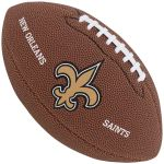 Bola de Futebol Americano Wilson NFL Team NEW ORLEANS SAINTS