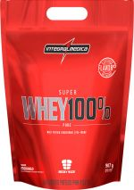 SUPERWHEY 100% INTEGRALMÉDICA - Morango 907g