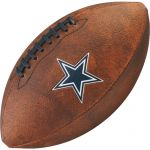 Bola de Futebol Americano Wilson THROWBACK NFL Jr. DALLAS COWBOYS