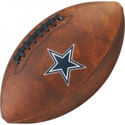 Bola de Futebol Americano Wilson THROWBACK NFL Jr. DALLAS COWBOYS  - foto principal 1