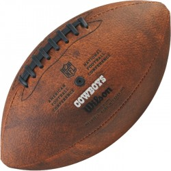 Bola de Futebol Americano Wilson THROWBACK NFL Jr. DALLAS COWBOYS  - foto principal 2