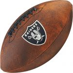 Bola de Futebol Americano Wilson THROWBACK NFL Jr. OAKLAND RAIDERS
