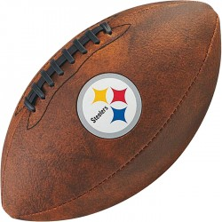 Bola de Futebol Americano Wilson THROWBACK NFL Jr. PITTSBURGH STEELERS  - foto principal 1