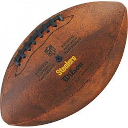 Bola de Futebol Americano Wilson THROWBACK NFL Jr. PITTSBURGH STEELERS  - foto principal 2
