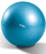 Bola Slim Fit Professional Gym Ball para Yoga / Pilates 75cm + Bomba para Inflar