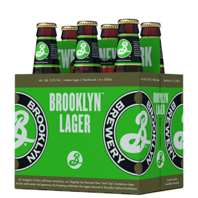 6 Pack Brooklyn Lager
