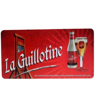 Bar Mat La Guillotine