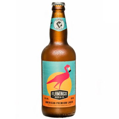Flamingo Beer Lager 500 ml