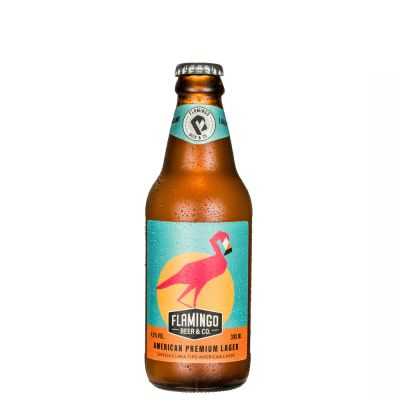 Flamingo Beer Lager 300 ml