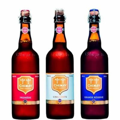 Kit Chimay 750 ml - 3 Cervejas
