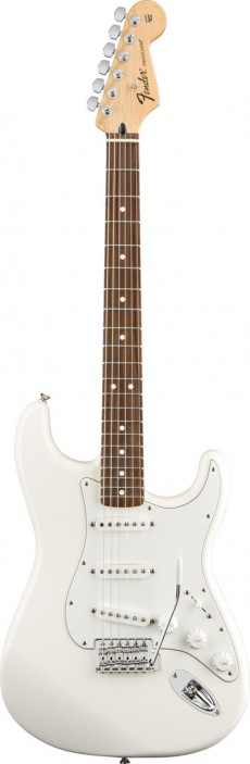Guitarra Fender Standard Stratocaster RW SSS | 014 4600 | Mexico | Arctic White