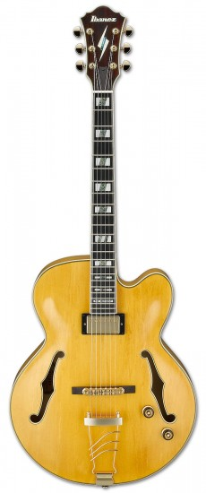 Guitarra Ibanez PM 2 | Pat Metheny Signature | Case | Antique Amber