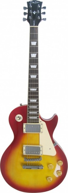 Guitarra Shelter Nashville | NAS305 | LP | Braço Colado | CS (Cherry Sunburst ) | Com Bag e Correia