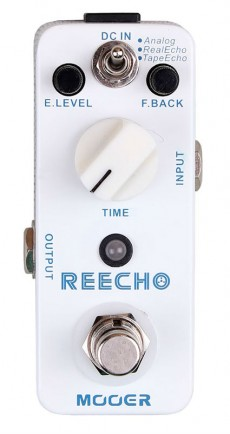 Pedal Mooer Reecho | Digital Delay | Guitarra