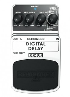 Pedal Behringer DD 400 | Digital Delay | Guitarra