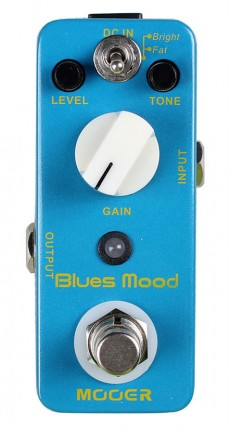 Pedal Mooer Blues Mood | Overdrive | Para Guitarra