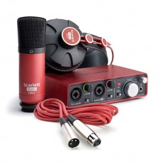 Kit Focusrite Scarlett Studio | Interface + Fone + Microfone | 1ª Gen