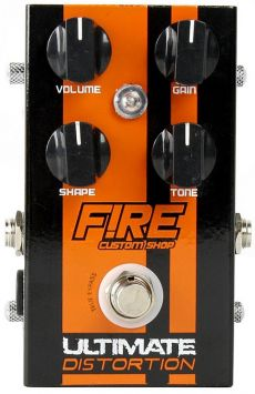 Pedal Fire Ultimate Distortion | True Bypass | Para Guitarra