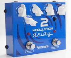 Pedal Fuhrmann Modulation Delay 2 | Mix Time Feedback | True Bypas | Para Guitarra