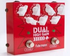 Pedal Fuhrmann Dual High Gain | Gain e Level | True Bypass | Guitarra