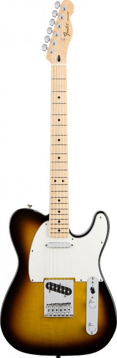 Guitarra Fender Standard Telecaster | 014 5102 | Escala Maple | Mexico | Brown Sunburst (532)