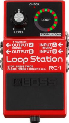 Pedal Boss RC-1 | Loop Station | LED Circular | 12 Minutos de Gravação