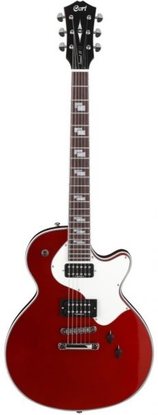 Guitarra Cort Sunset II | Caps TV Jones Ltd | CAR (Candy Apple Red)