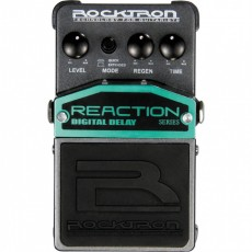Pedal Rocktron Reaction Digital Delay | Para Guitarra | True ByPass | Modos Level Regen e Time