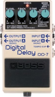 Pedal Boss DD-7 | Digital Delay | Guitarra