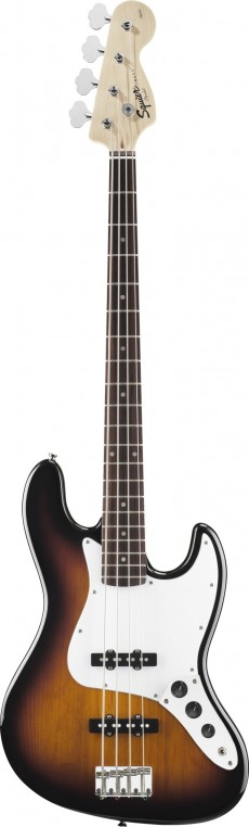 Baixo Fender Squier Jazz Bass | Affinity | 4 Cordas | 031 0760 | Brown Sunburst (532)