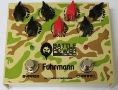 Pedal Fuhrmann Battle Power | Drive e Distortion | De Ros Signature | True Bypass | Para Guitarra