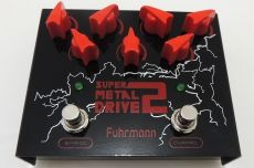 Pedal Fuhrmann Super Metal Drive 2 | Drive e Level | True Bypass | Para Guitarra