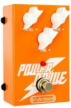 Pedal Fuhrmann Power Drive | True Bypass | Para Guitarra
