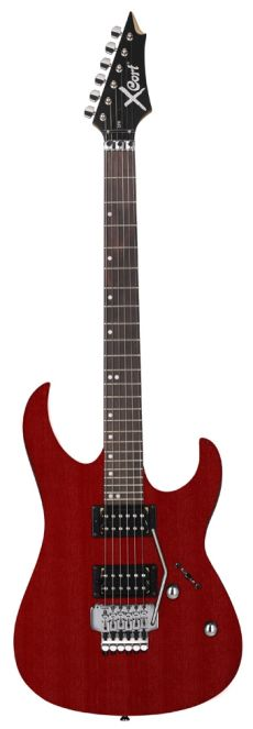 Guitarra Cort X1 DFR | HH | OPBC (Open Pore Black Cherry)