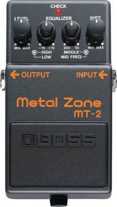 Pedal Boss MT-2 | Metal Zone | Distorção | Para Guitarra