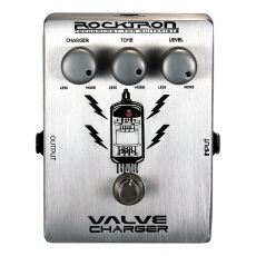Pedal Rocktron Valve Charger | Overdrive | Boutique Series | True Bypass | Para Guitarra