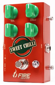 Pedal Fire Sweet Chilli | Overdrive | True Bypass | Para Guitarra