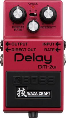 Pedal Boss DM-2W | Waza Craft | Delay Analógico | Para Guitarra