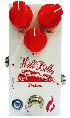 Pedal Fire Hill Billy | Drive | Compacto | Guitarra