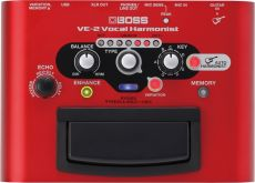 Pedal Boss VE-2 | Vocal Harmonist | Compacto
