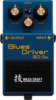 Pedal Boss BD-2W | Blues Driver | Waza Craft | Para Guitarra