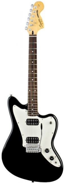 Guitarra Fender Squier Vintage Modified Jagmaster | 032 0700 | Preta