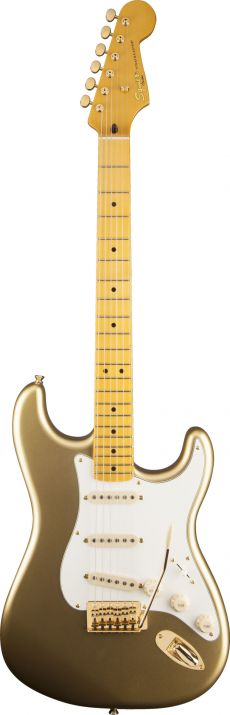 Guitarra Fender Squier Classic Vibe Stratocaster 60th Anniversary | 030 3060 | SSS | Aztec Gold (578)