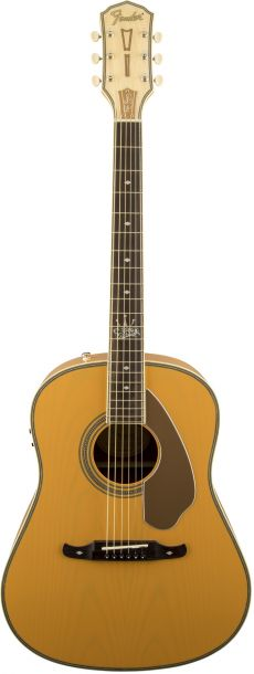 Violão Fender Ron Emory Loyalty Slope Shoulder Dreadnought | Signature | 096 8550 | Folk | Ash Butterscotch (999)